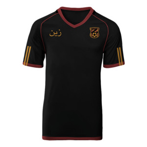 Gold and Burgundy Jersey