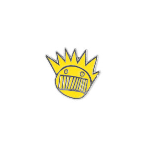 Boognish Yellow Enamel Pin