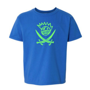 Boognish Pirate Kids' T-Shirt