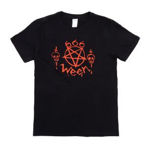 666 T-shirt Black