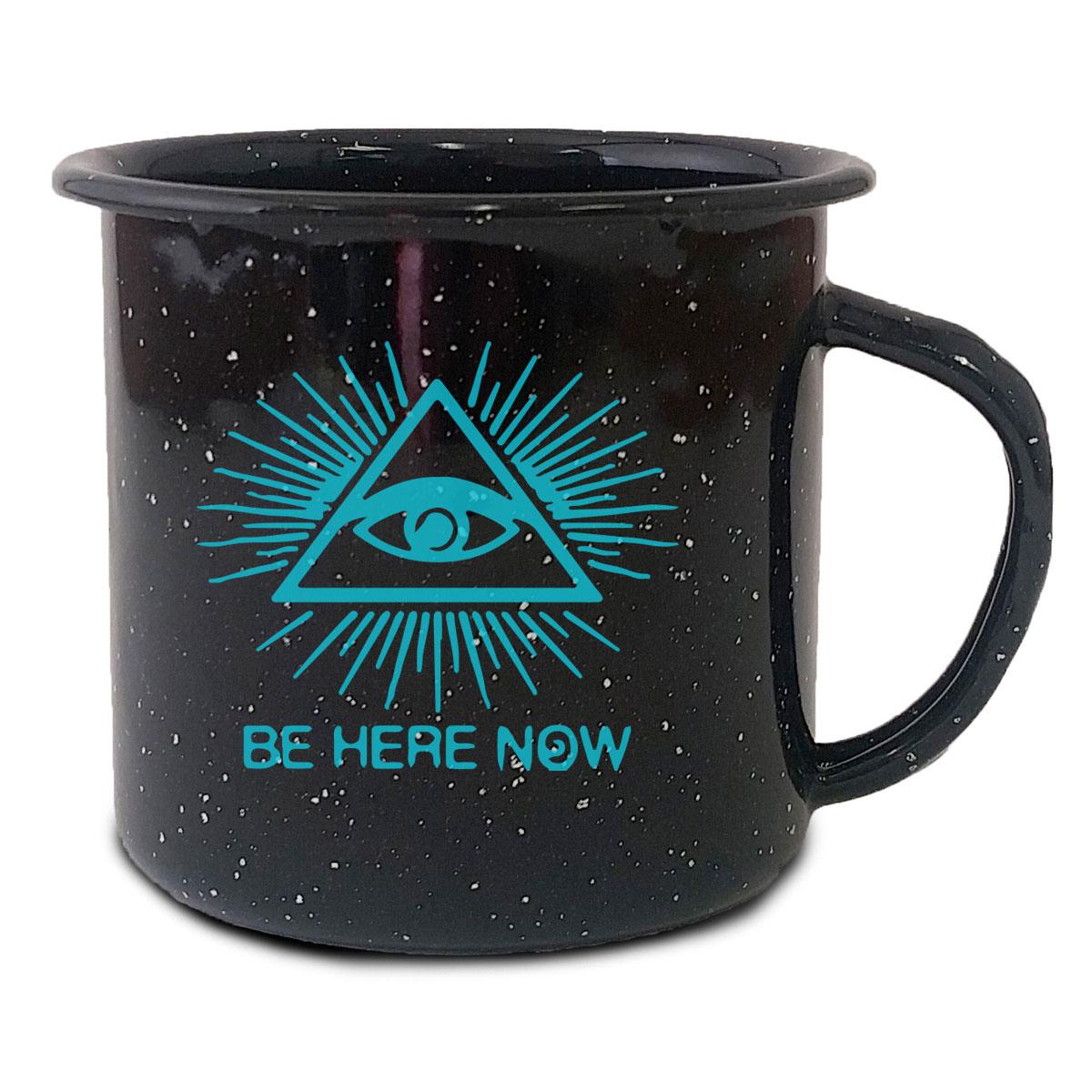 Black Camp Mug