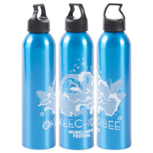 Okeechobee Wave Water Bottle