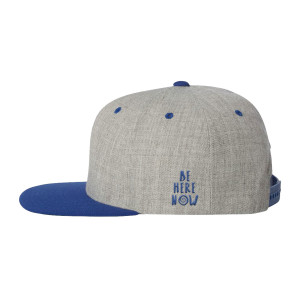 Tan/Blue Snapback Hat