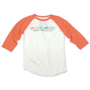 Okeechobee Raglan - Orange