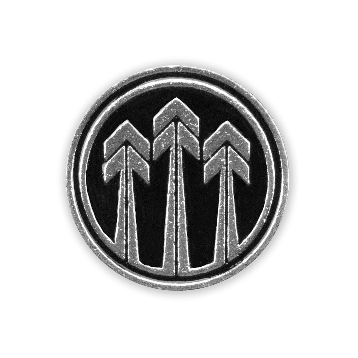 2019 Tour Silver Metal Arrows Pin