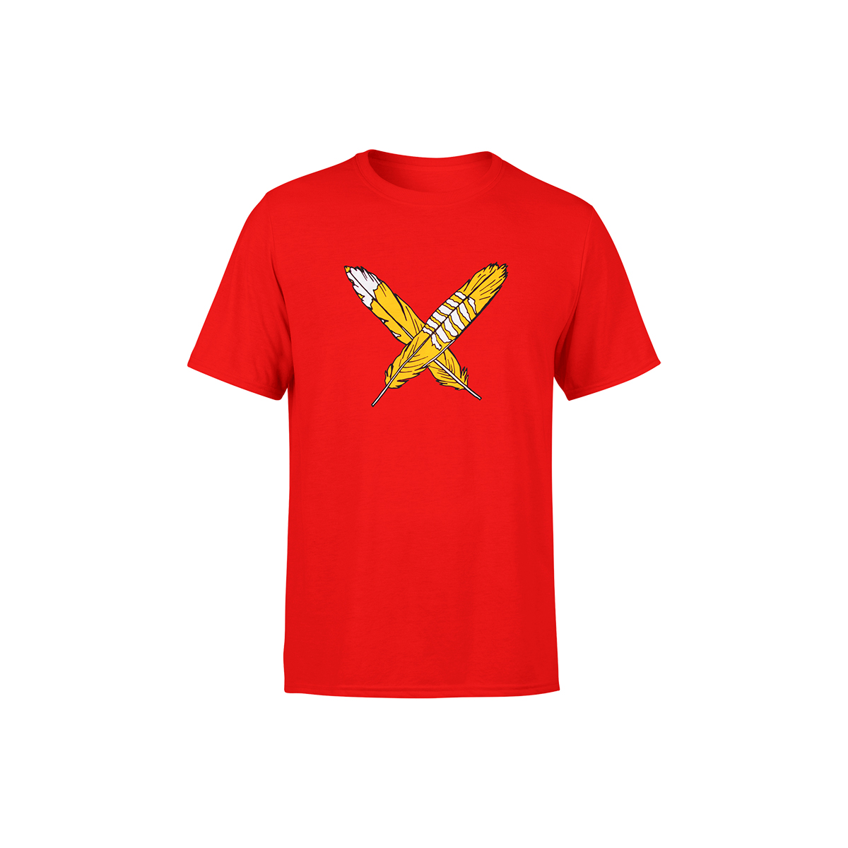 Red Feathers Kids Tee