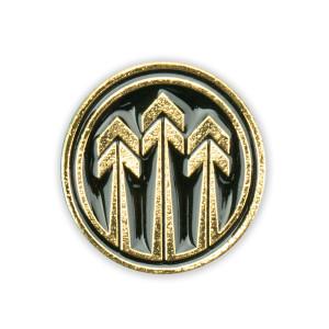 2019 Tour Gold Metal Arrows Pin