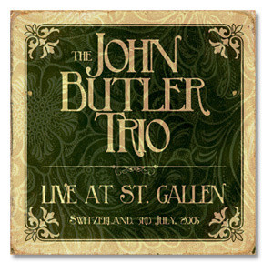 The John Butler Trio Live at St. Gallen CD