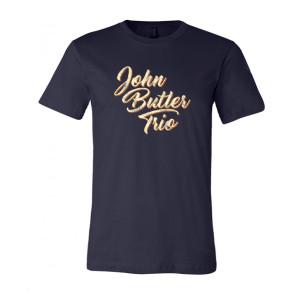 John Butler Trio Navy T-shirt