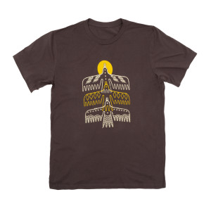 HOME Tour Dateback Brown Unisex Shirt