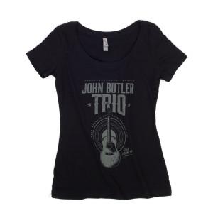 Women's 2017 Tour Tee Guitar Design T-Shirt