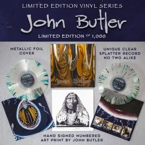 """""""John Butler"""" Limited Edition Vinyl"""