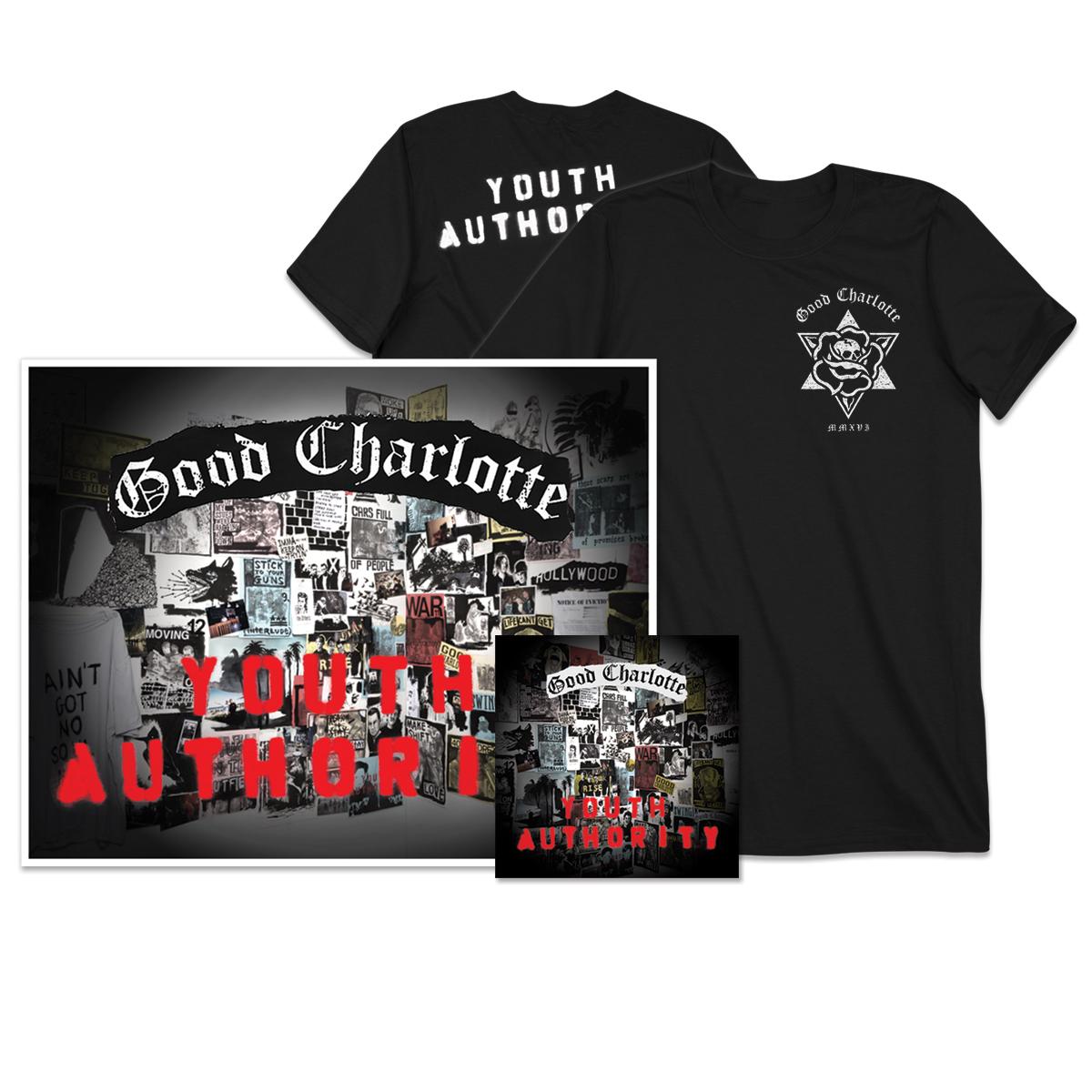 Youth Authority CD + Signed Litho + T-shirt