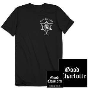 "Good Charlotte Youth Authority CD + T-shirt + ""Makeshift Love"" Instant MP3"