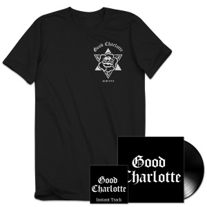 Good Charlotte Youth Authority LP + T-shirt + MP3 Album + Instant Track