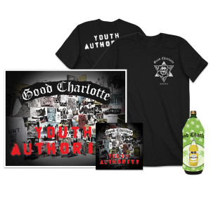 Youth Authority CD + Signed Litho +T-shirt + Koozie