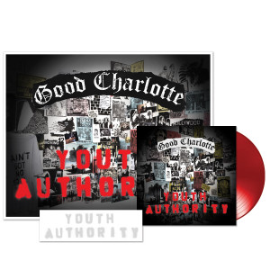 Youth Authority LP + Stencil + Signed Litho + Youth Authority MP3 Album