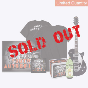 Youth Authority CD + Signed Litho + T-shirt + Koozie + Lunchbox + Signed Guitar (Only 3 Available!)