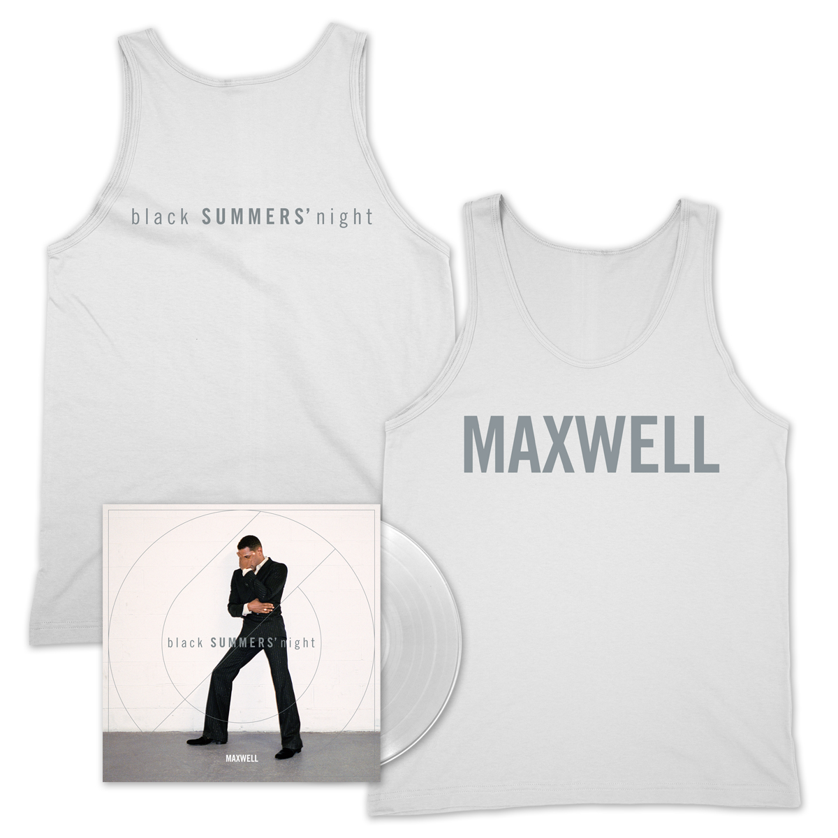 Limited Edition Clear Vinyl + Tank