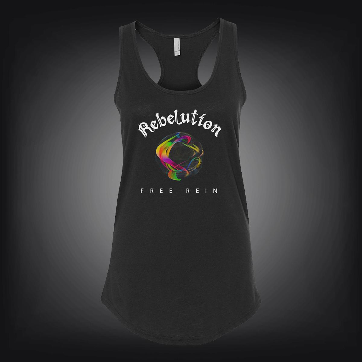 Rebelution: Free Rein Women's Album Tee