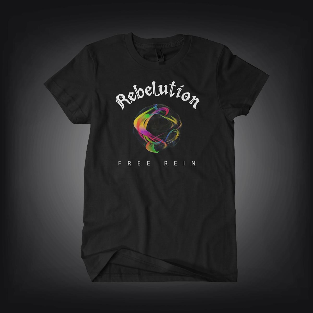 Rebelution: Free Rein Men's Album Tee