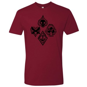 Sea of Thieves - Cards Suit Unisex T-Shirt
