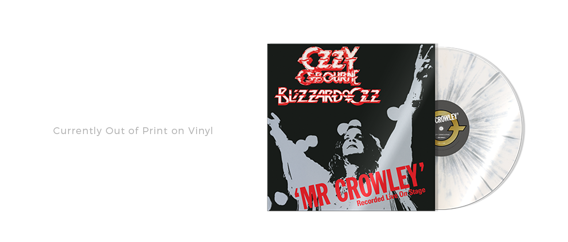Shop for Mr. Crowley Live Here