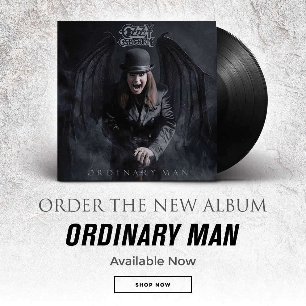 "Get The New Ablum ""Ordinary Man"" 