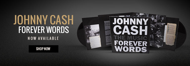 Shop Johnny Cash Forever Words Now