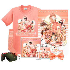 Peach Panther Platinum Vinyl + CD Bundle