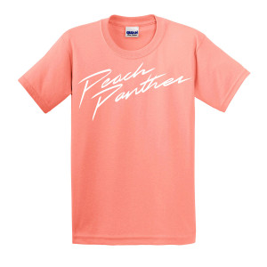 Peach Panther Logo T-Shirt