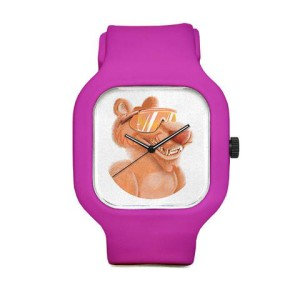 Peach Panther Image Sport Watch