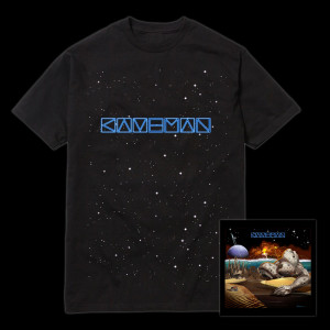 Otero War CD & Stars T-Shirt Bundle