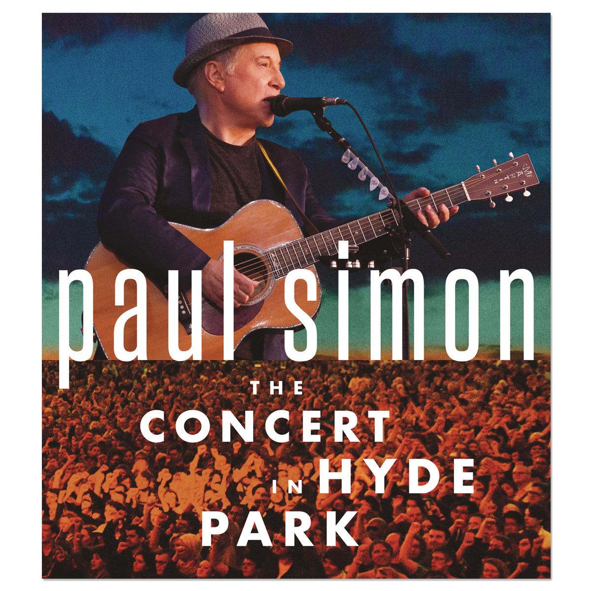Paul Simon The Concert in Hyde Park CD/DVD