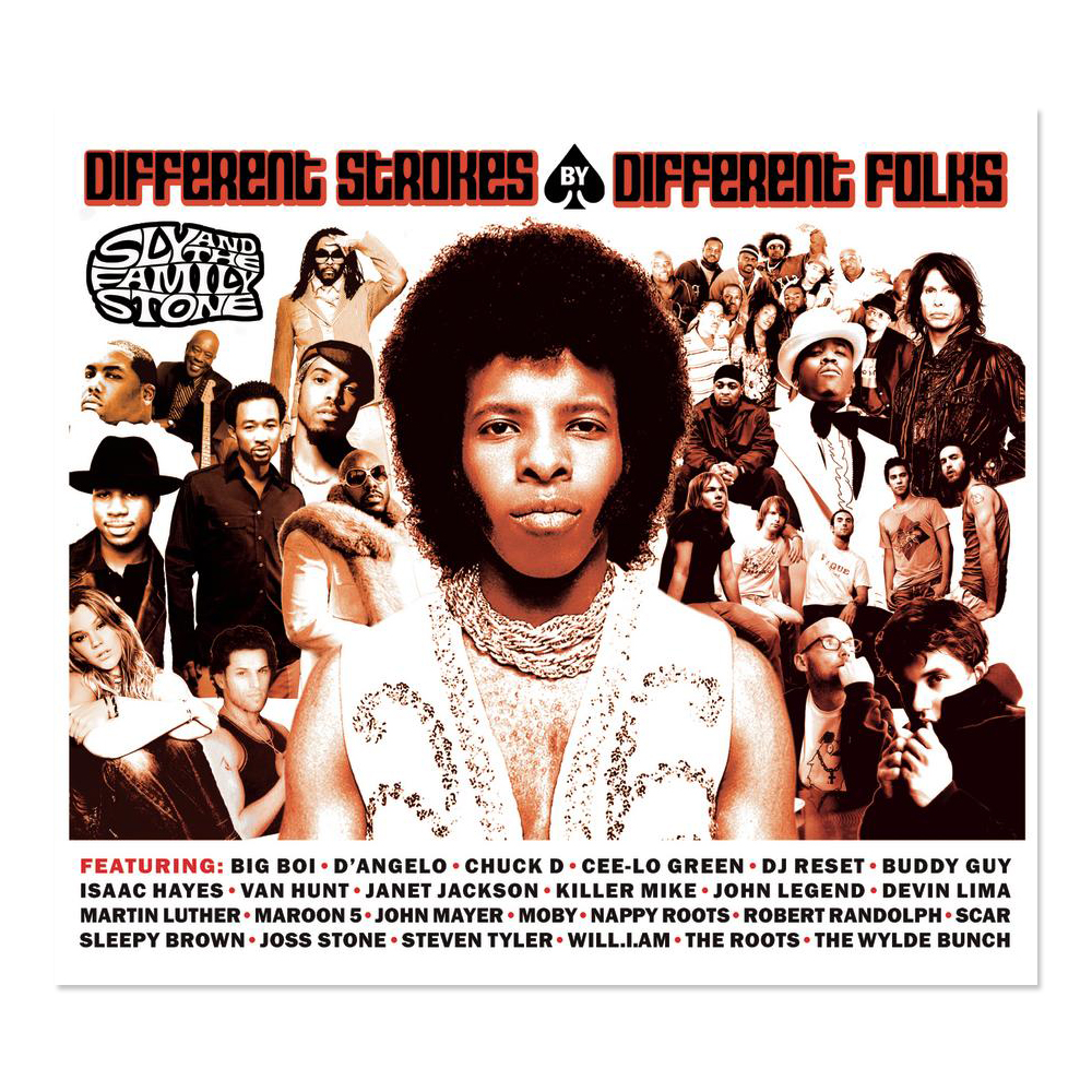 Sly & The Family Stone Different Strokes By Different Folks CD
