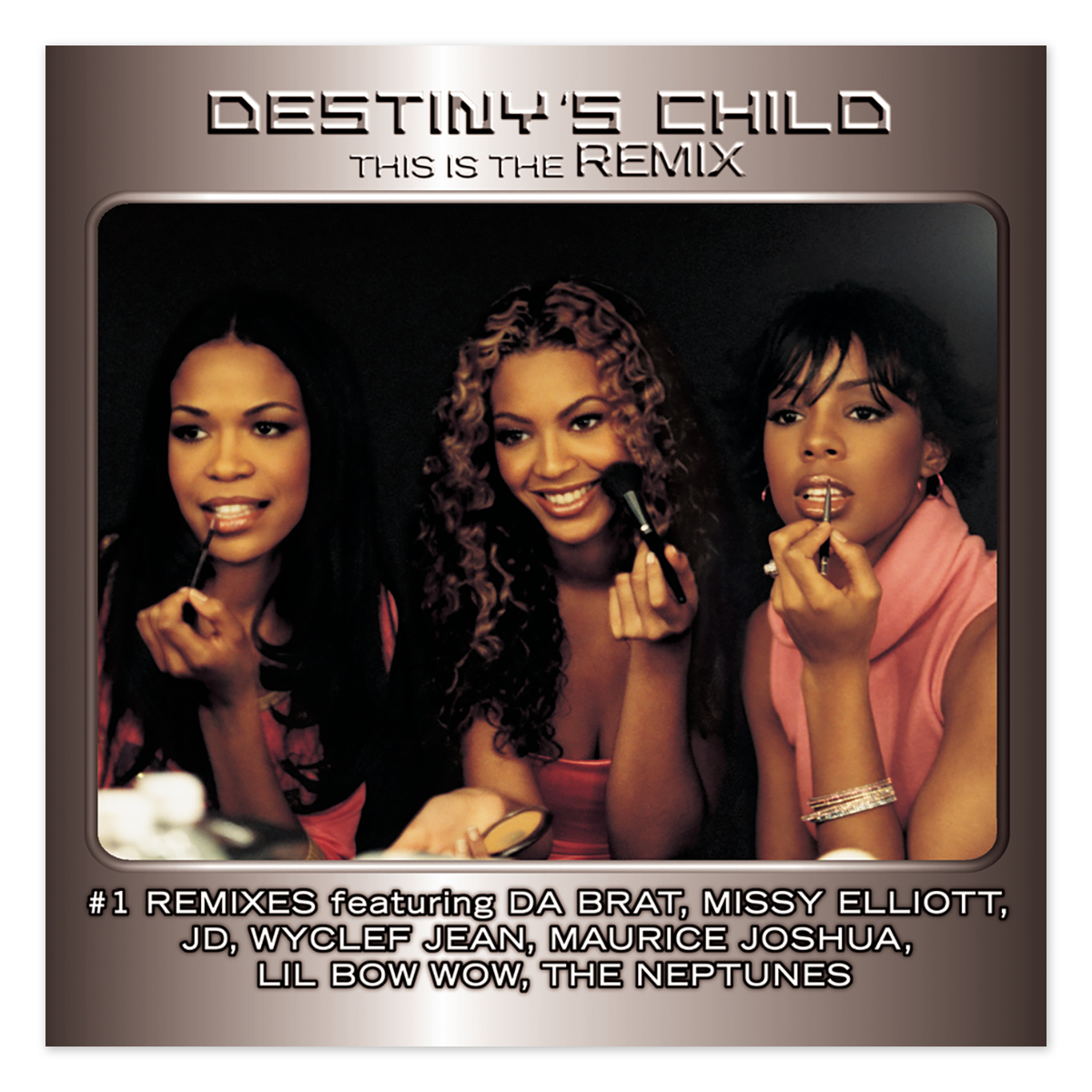 Destiny's Child This Is The Remix CD