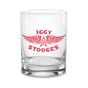 Iggy and the Stooges ® Wings 13.5oz Rocks Glass