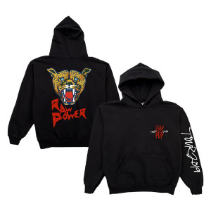 Iggy Pop 2019 Tour Raw Power Hoodie