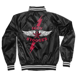 Iggy and the Stooges Satin Jacket