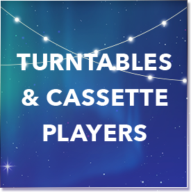 Turntables and Cassette Players