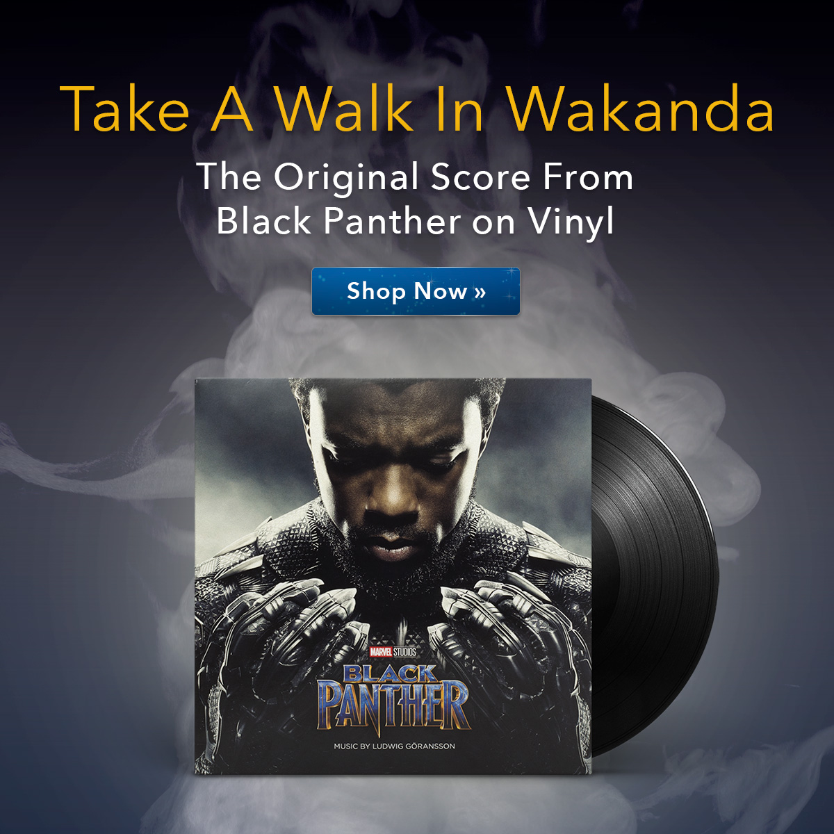Black Panther on Vinyl