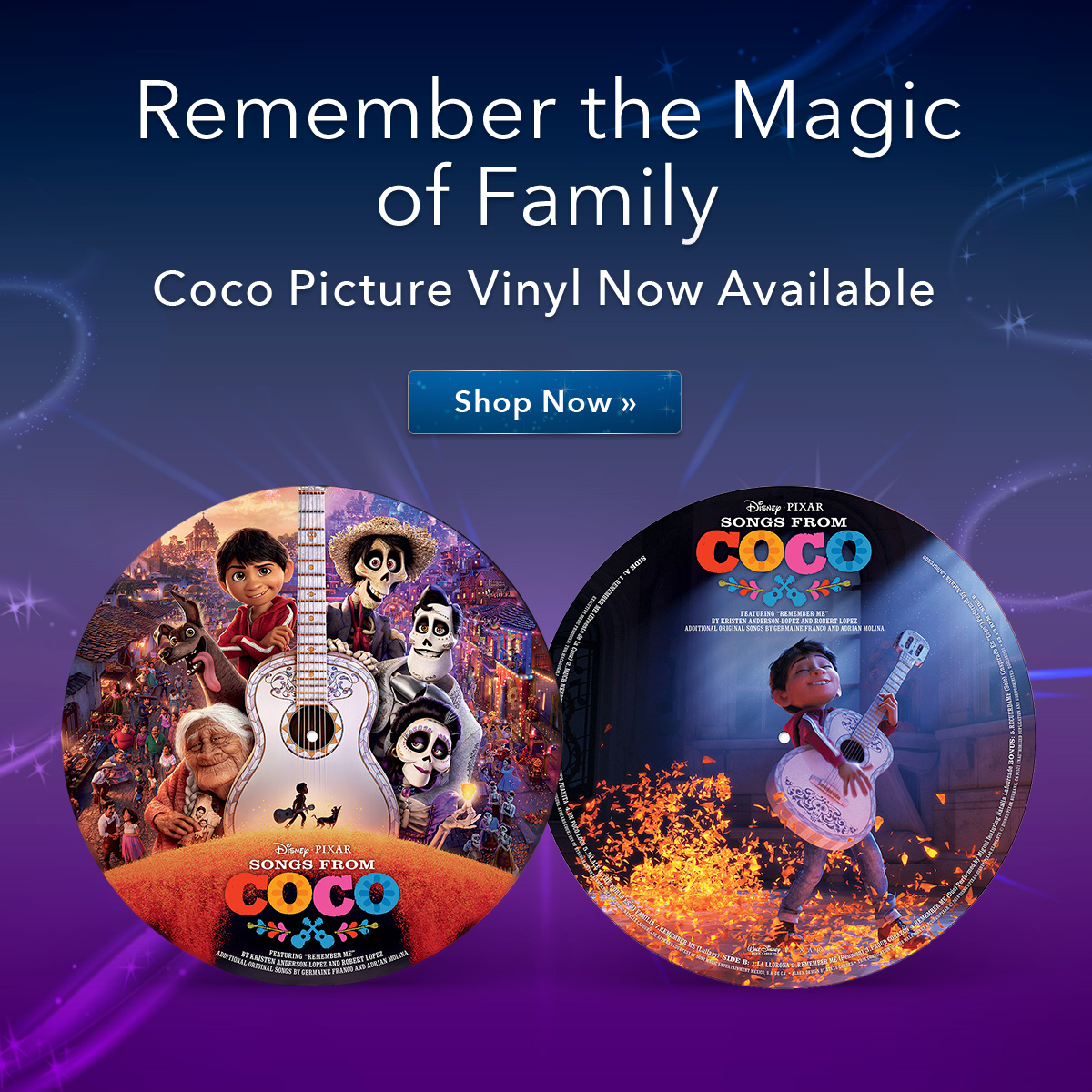 Coco Picture Vinyl Now Available