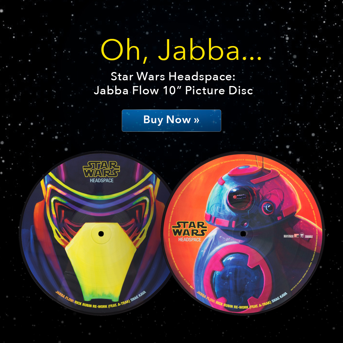 Star Wars Headspace: Jabba Flow Picture Disc