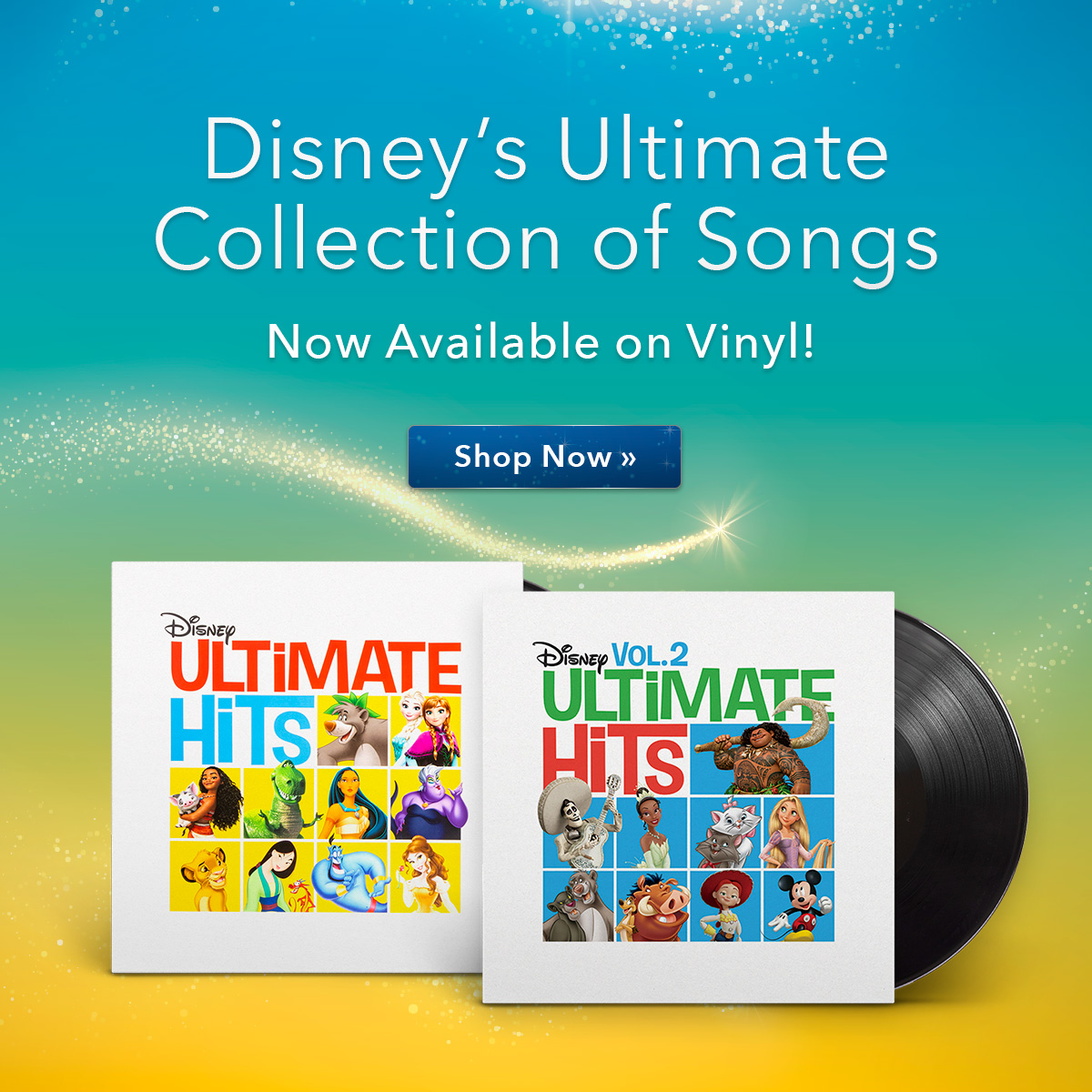 Ultimate Hits Volume 1 and 2!
