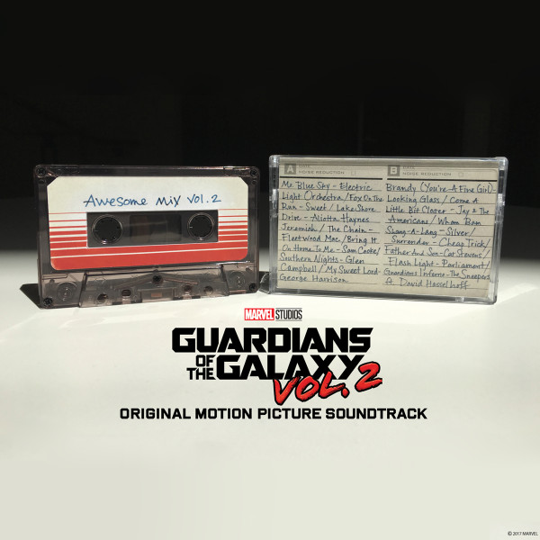 Guardians of the Galaxy Awesome Mix Vol  2 Cassette | Shop the