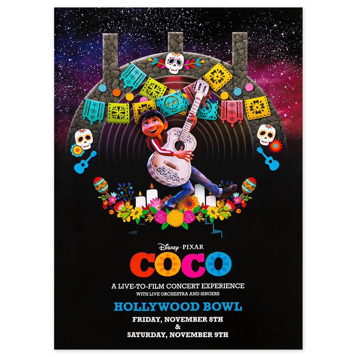 Coco Hollywood Bowl Program
