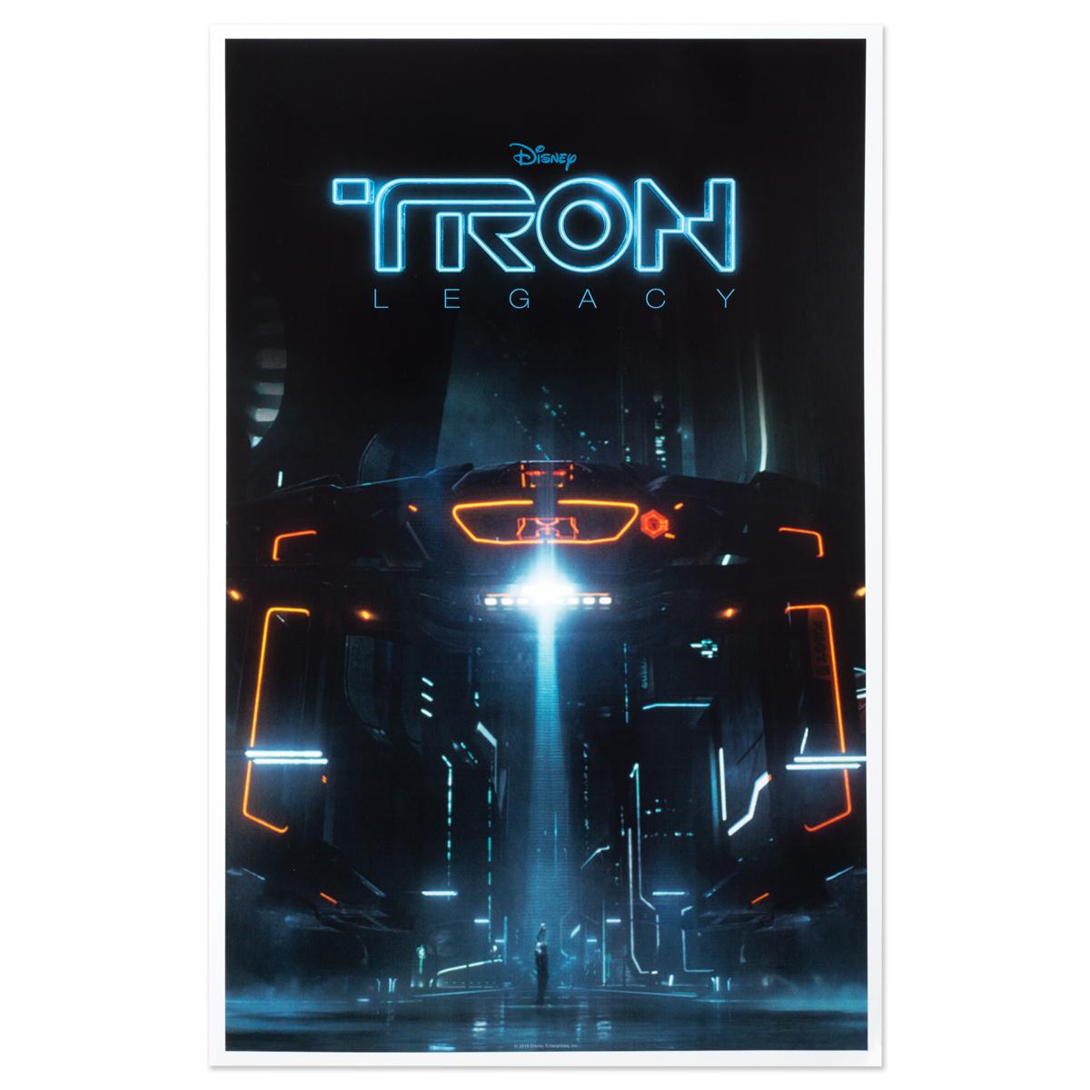 Tron Legacy Translucence 10 Vinyl And Poster Bundle