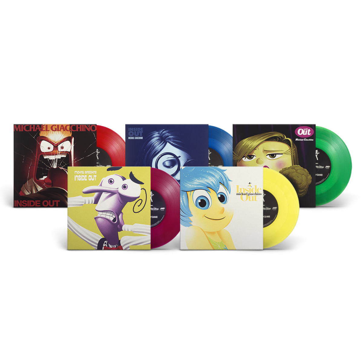 "Inside Out (Mondo Emotions 7"" Series)"