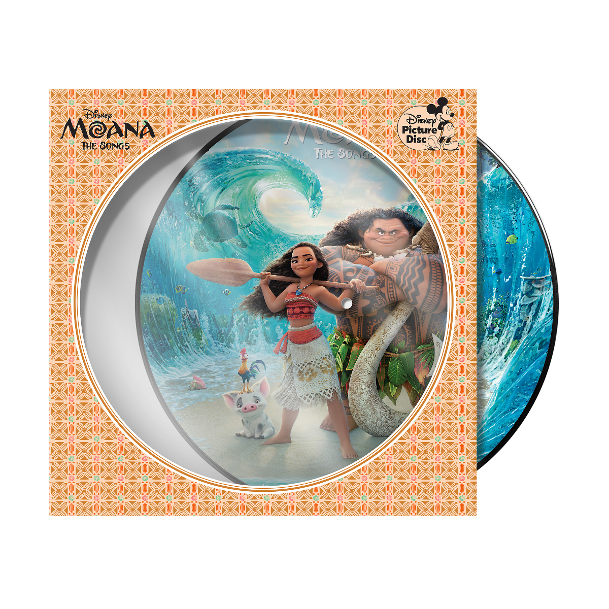 Moana: The Songs Picture Vinyl
