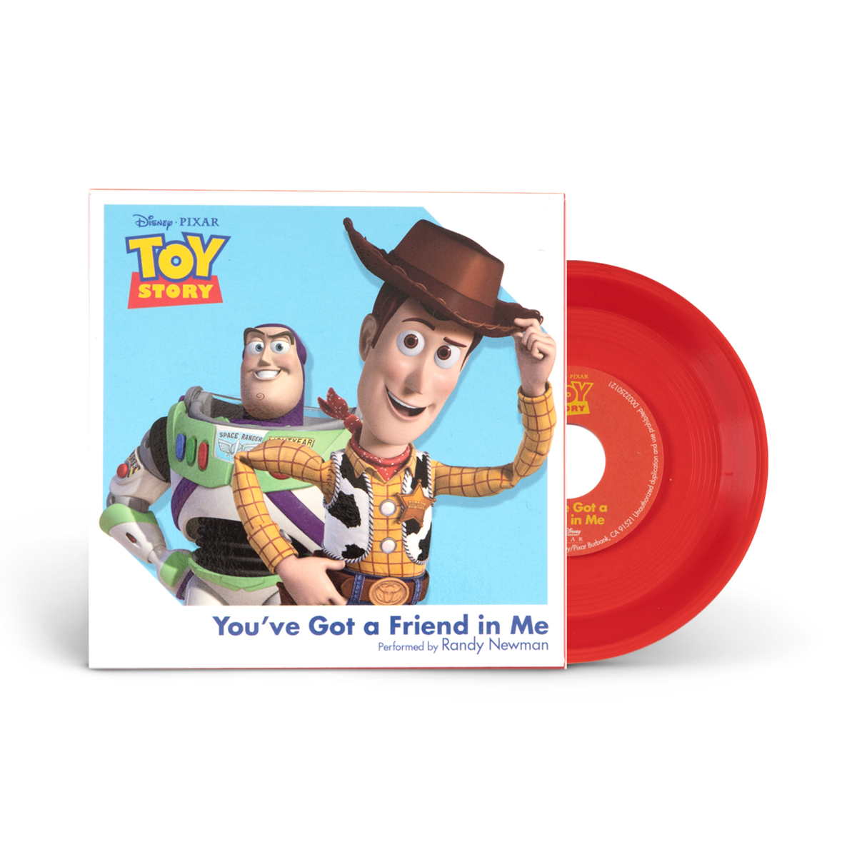 "Toy Story / You've Got A Friend In Me 3"" Vinyl"
